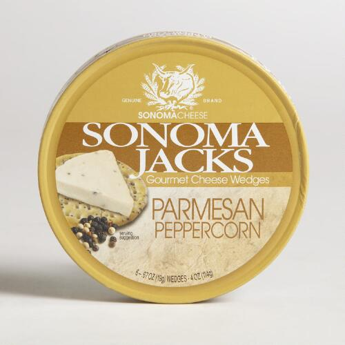 Sonoma Jacks Parmesan Peppercorn Cheese