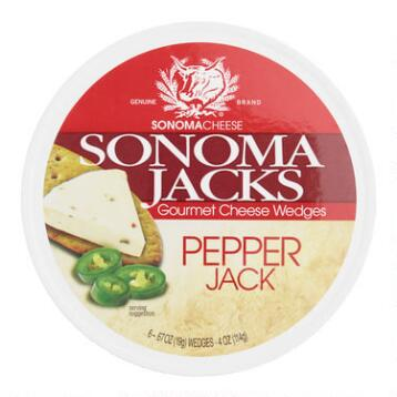 Sonoma Jack's Pepper Jack Cheese, Set of 12