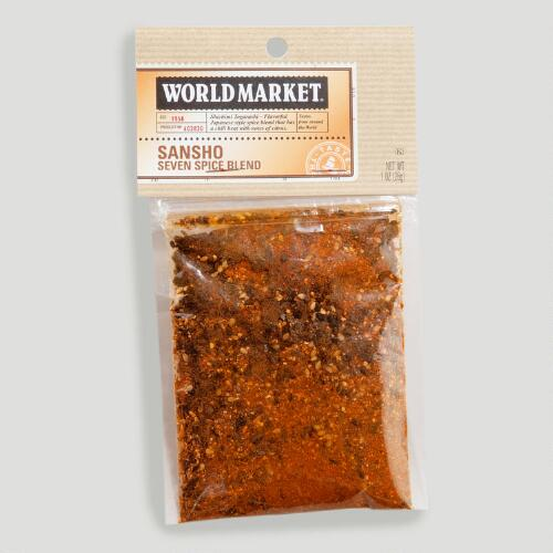 World Market® Japanese Sansho 7 Spice Bag