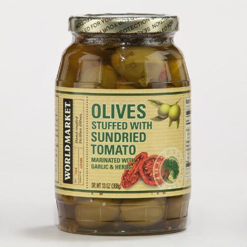 World Market® Sun Dried Tomato Stuffed Olives