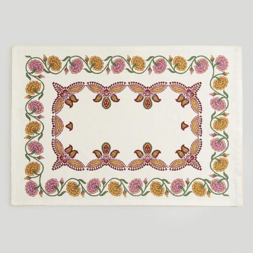 Amber Provence Placemats, Set of 4