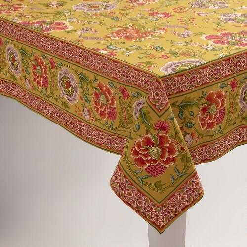 Linley Floral Tablecloth
