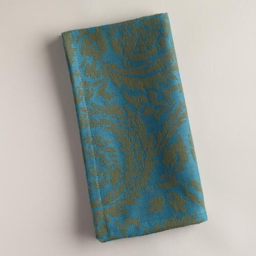 Ocean Sofia Jacquard Napkins, Set of 4