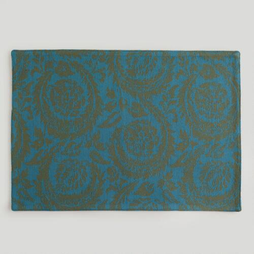 Ocean Sofia Jacquard Placemats, Set of 4