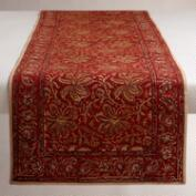 Kalamkari Red Table Runner