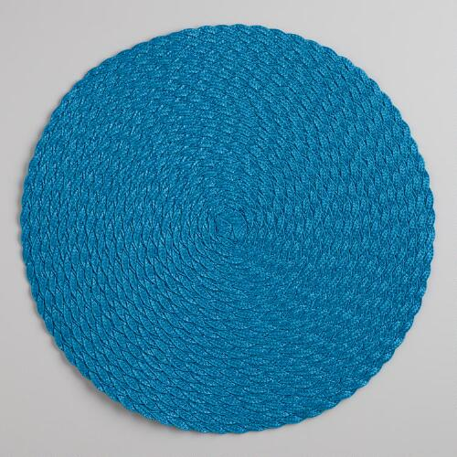 Ocean Round Braided Placemats, Set of 4