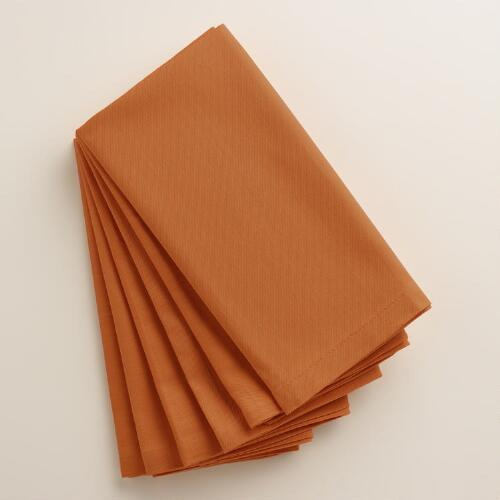 Nutmeg Spice Buffet Napkins, Set of 6
