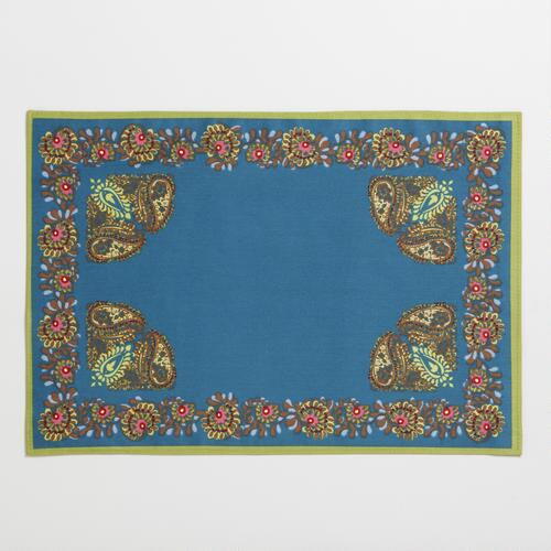 Ocean Palazzo Paisley Placemat, Set of 4