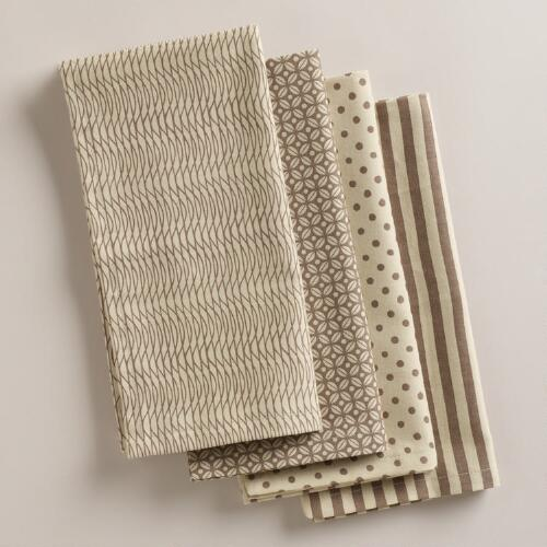 Hampstead Neutral Napkins, Set of 4