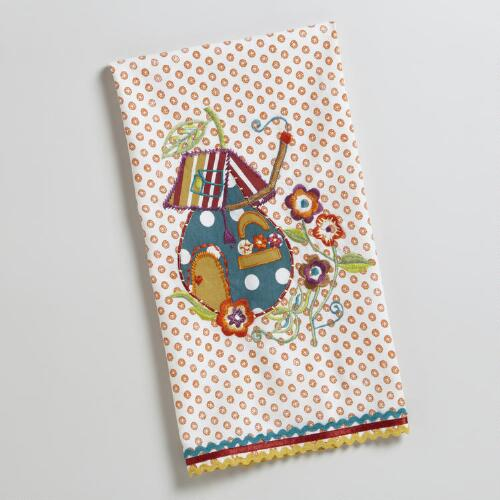 Gnome Applique House Towel