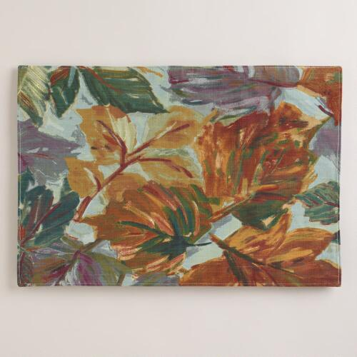 Autumn Leaves Placemats, Set of 4