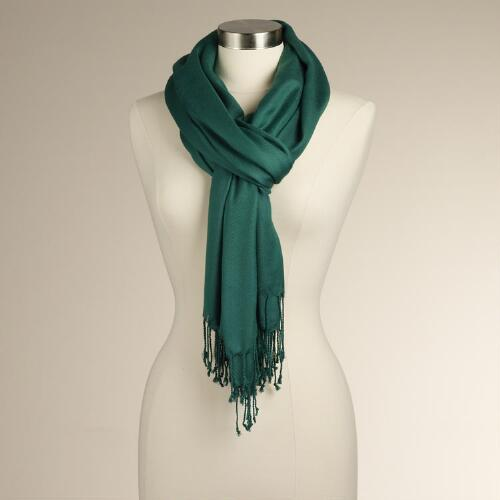 Evergreen Pashmina Shawl