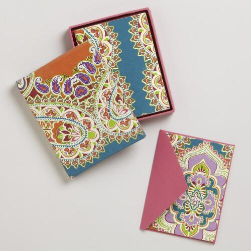Venetian Handmade Boxed Cards, Set of 8