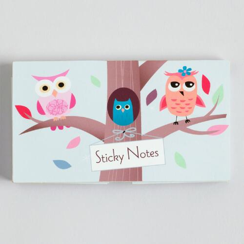Owls Pop-Up Sticky Notes