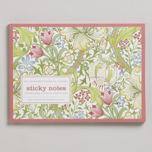 Large Warm Morning Garden Sticky Notes
