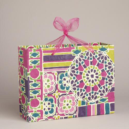Large Rectangular San Marco Handmade Gift Bag