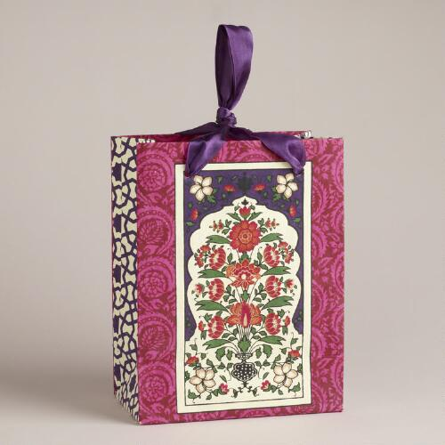 Small Venetian Window Pane Handmade Gift Bag