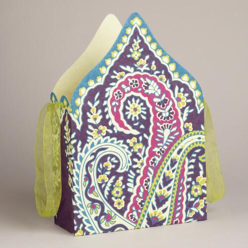 Large Die-Cut Rialto Handmade Gift Bag