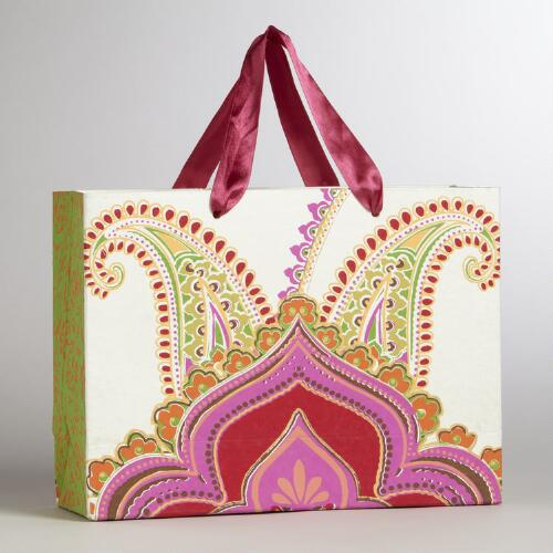 Rialto Crown Rectangular Handmade Gift Bag