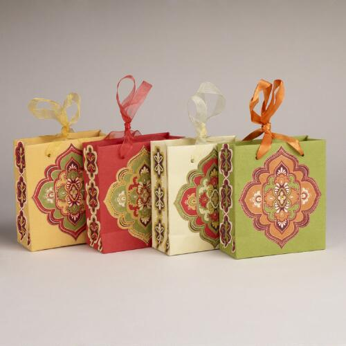 Mini Spice Medallion Bags, Set of 4