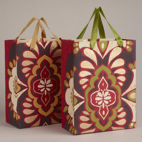 Small Spice Medallion Bags, Set of 2