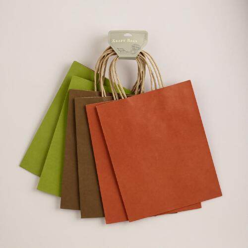 Medium Kraft Bags Value Pack