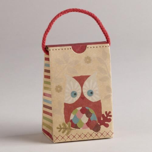 Owl Kraft Petite Purses, Set of 3