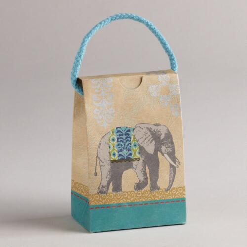 Elephant Animalia Petite Purses, Set of 3