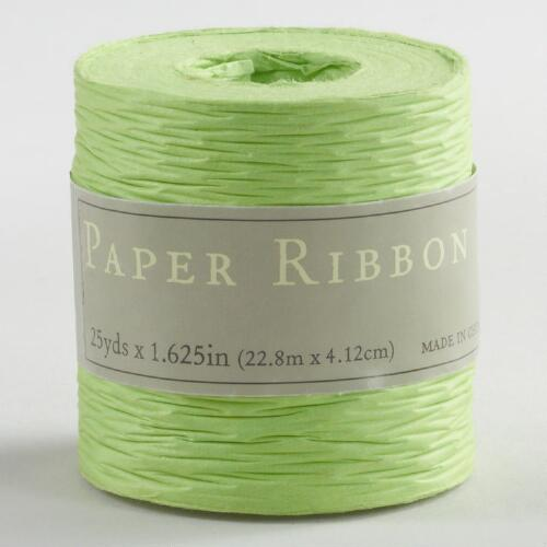Green Paper Ribbon