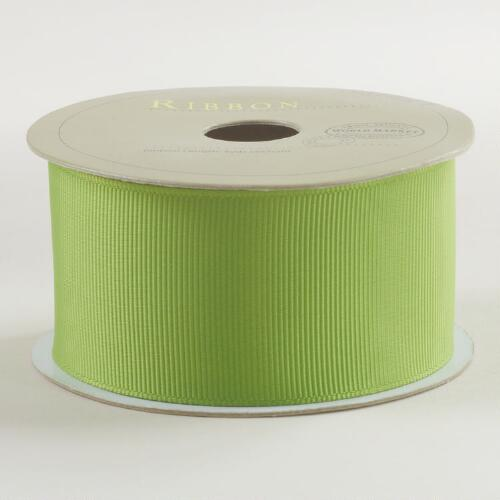 Kiwi Grosgrain Ribbon