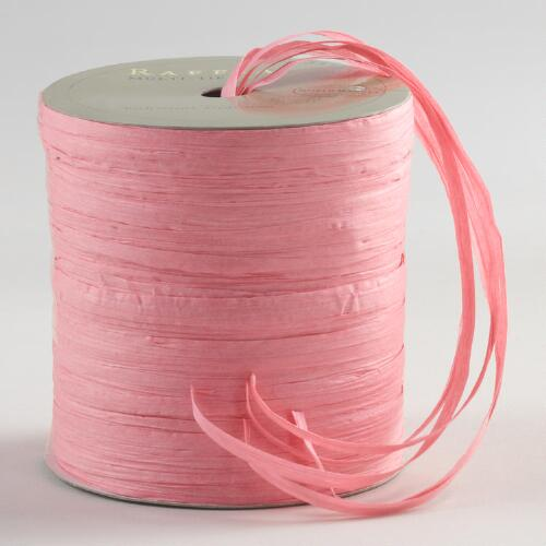 Light Pink Multi-Tie Raffia