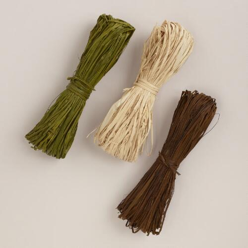 Summer Traditional Raffia 3-Pack