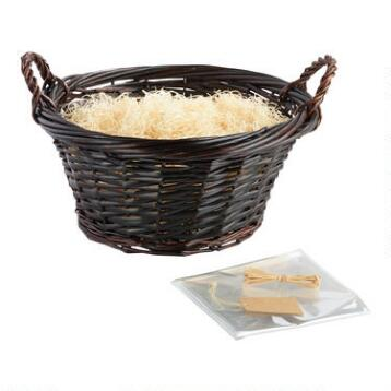 Large Brown Basket Kit