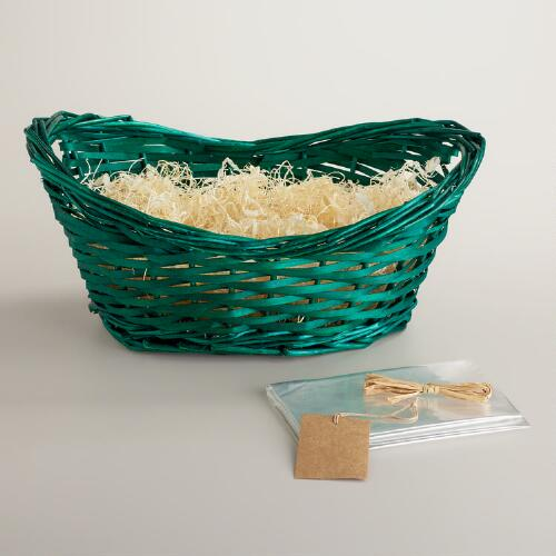 Green Gift Basket Kit