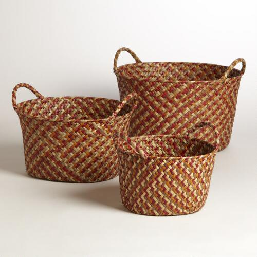 Harvest Round Michelle Baskets