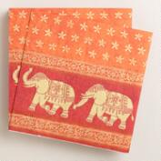 Elephant Lunch Napkins, Set of 16