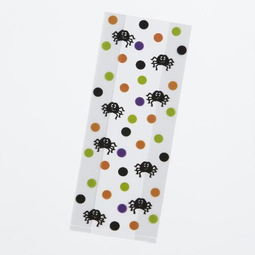 Spider Polka Dot Treat Bags, 20-Pack