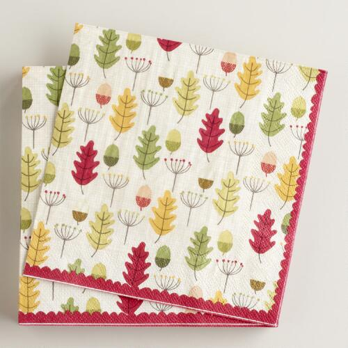 Harvest Scatter Lunch Napkins