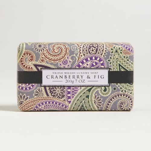 Aromas Artesanales de Antigua Cranberry and Fig Soap