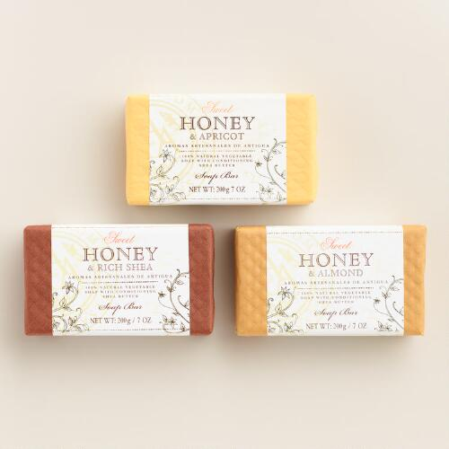 AAA Honey Bar Soap Collection