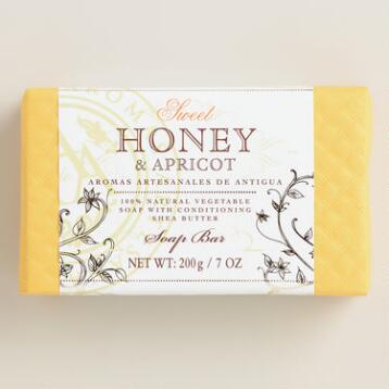 Aromas Artesanales de Antigua Honey and Apricot Soap