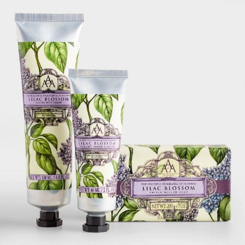 AAA Lilac Bar Soap and Lotion Collection