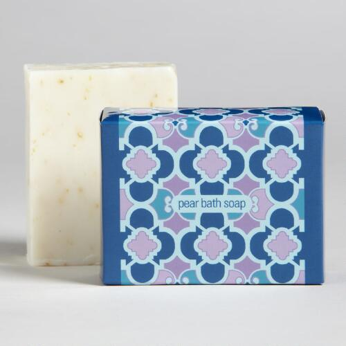 Pear Tiles Soap Bar