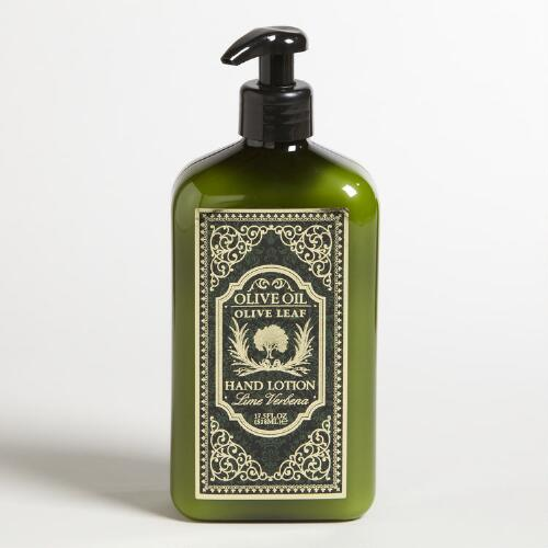 Lime Verbena Olive Leaf Hand and Body Lotion