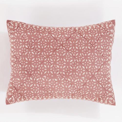 Rose Khara Pillow Shams, Set of 2