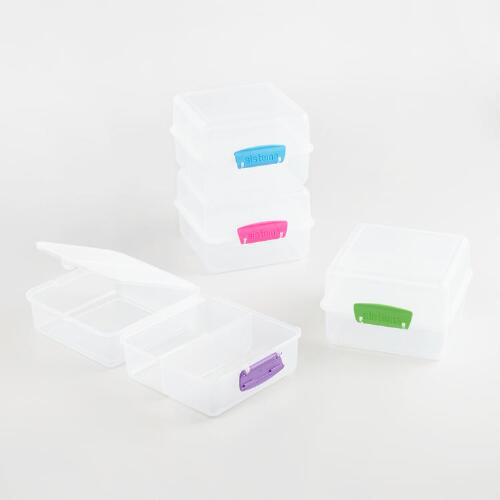 Sistema Klip-It Lunch Cubes, Set of 4