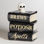 Spellbook Treat Jar