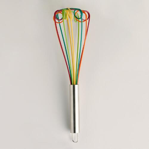 Fall Multicolored Silicone Whisk