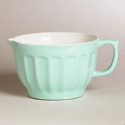 Mint Melamine Batter Bowl
