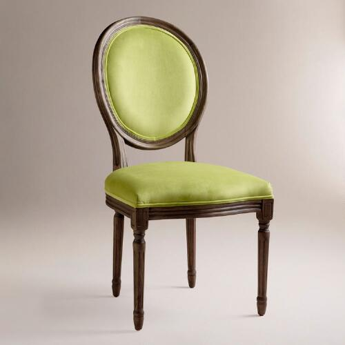 Lime Ella Side Chairs, Set of 2